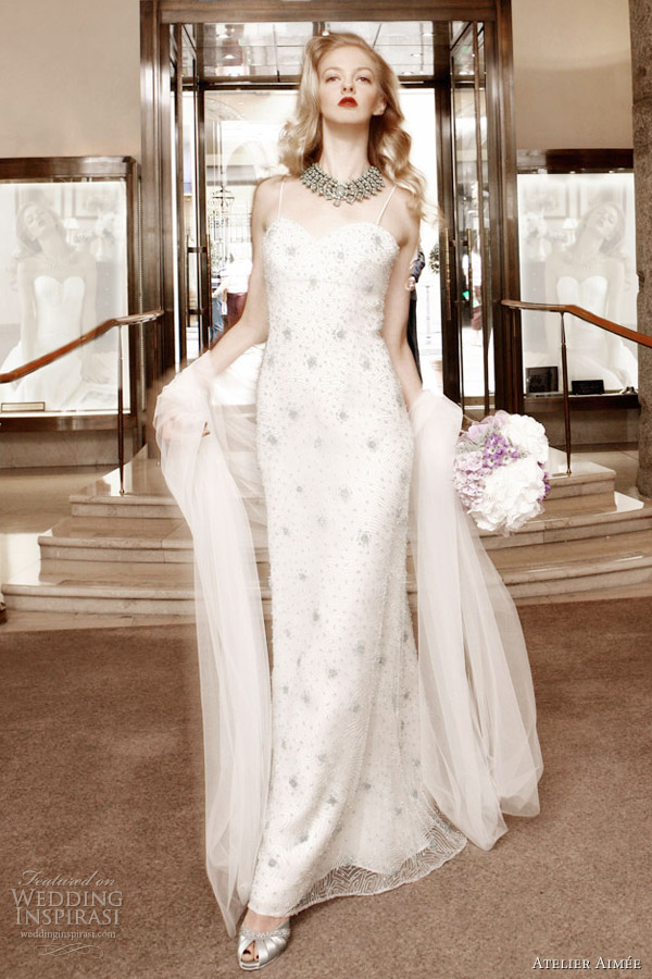 atelier aimee - wedding dress 2012