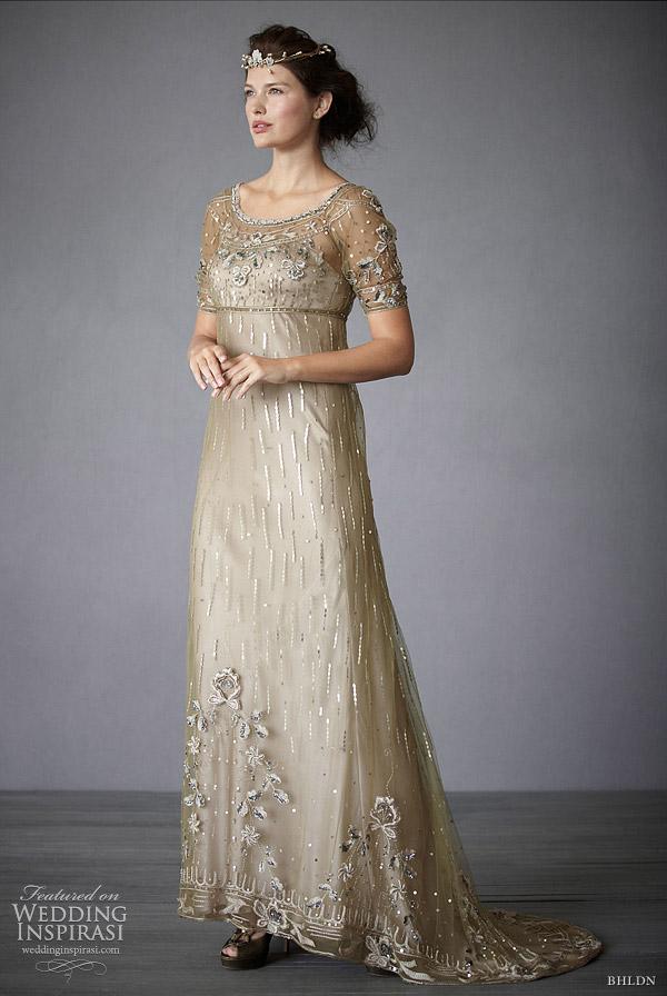 Anthropologie Wedding Gown 9 Fancy bhldn fairy song wedding