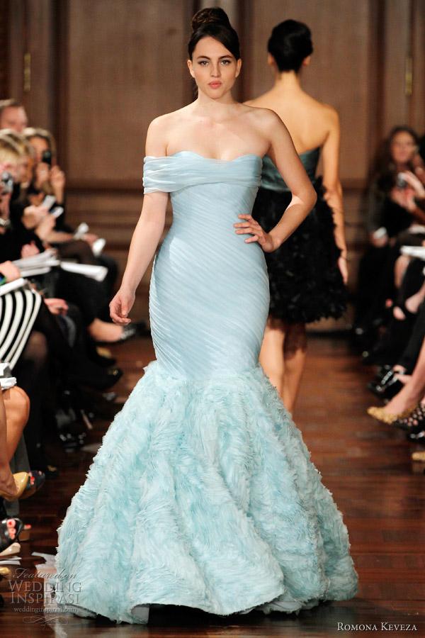 Romona Keveza Wedding Dresses Fall 2012 Wedding Inspirasi