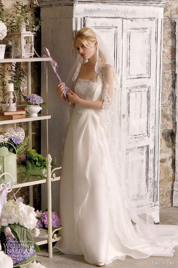 eme di eme bridal 2012 collection
