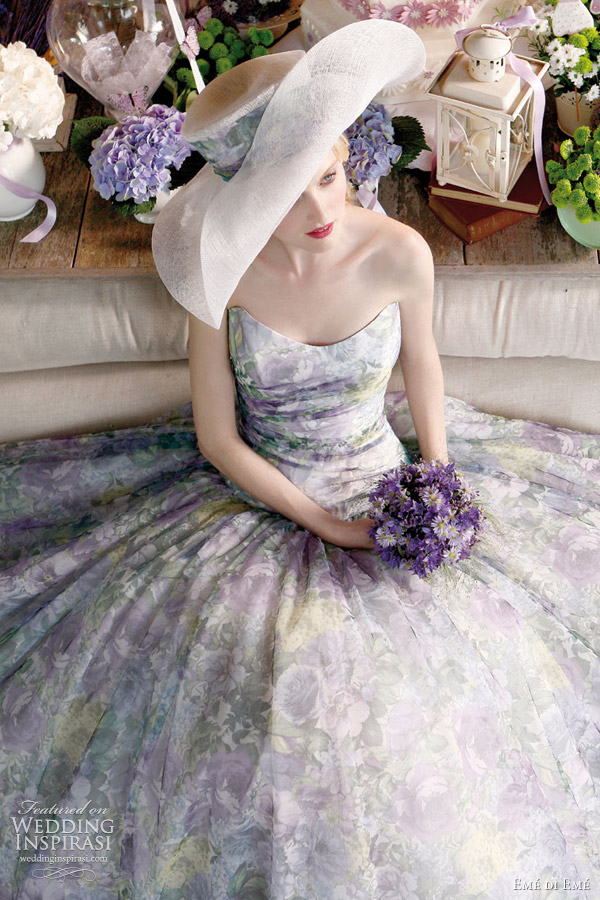 eme di eme provencal atmosphere bridal collection