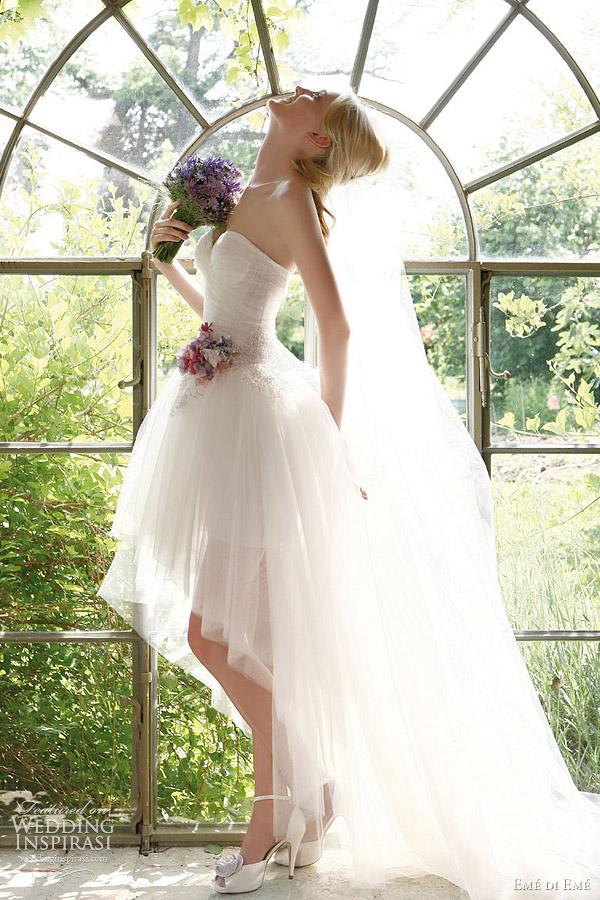 Low Back Wedding Dress With Veil : Em? di bridal collection wedding inspirasi