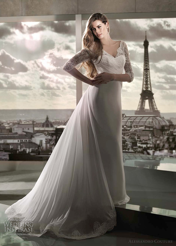 princess wedding dress 2012 - Alessandro Couture bridal collection