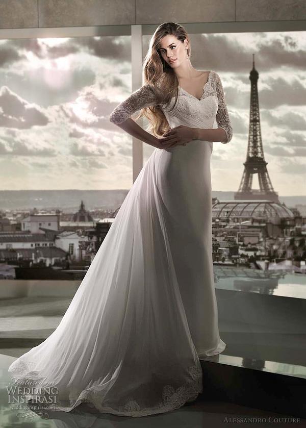 مجموعة كبيرة من  فساتين الزفاف الفرنسيه 2012 _2013 روعة وصور غاية فى الجمال Princess-wedding-dress-2012