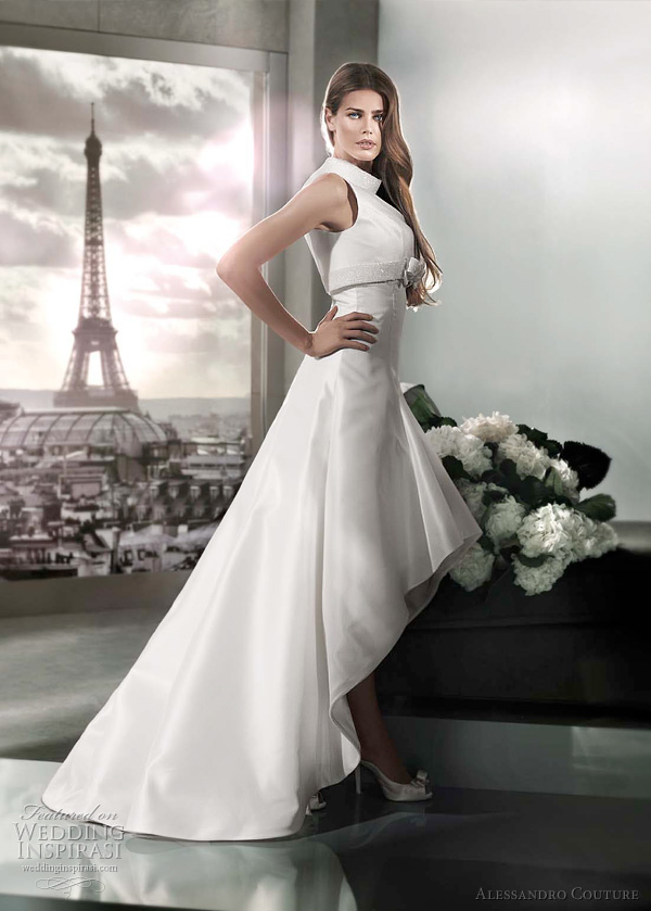 Alessandro Couture 2012 Color Wedding Dresses Wedding Inspirasi
