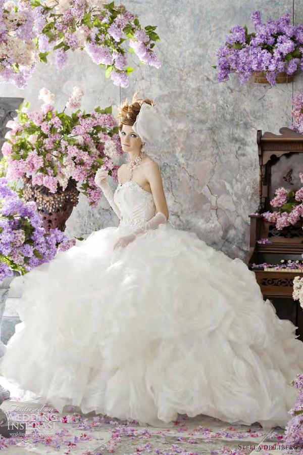 stella de libero bridal 2012