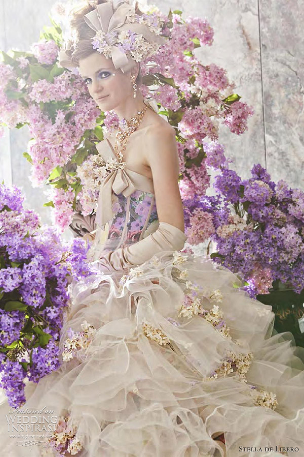 stella de libero wedding dresses 2012