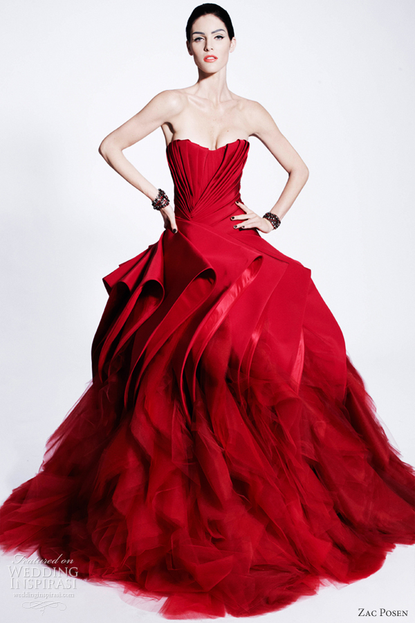 Zac Posen Pre-Fall 2012 Ready-to-Wear | Wedding Inspirasi
