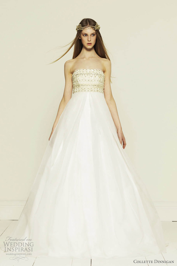 Collette Dinnigan Princess Wedding Dress 2012