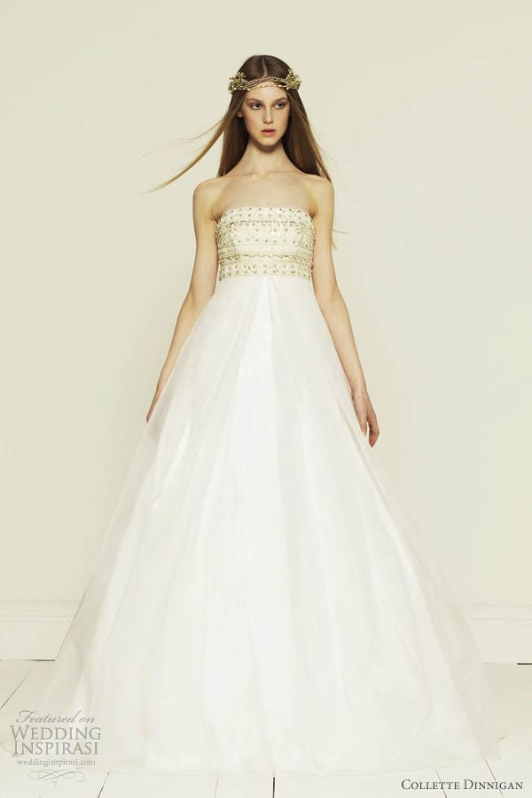 Collette Dinnigan princess wedding dress 2012