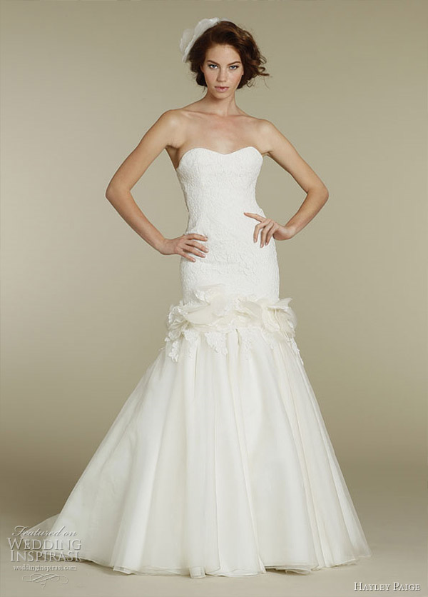 bella wedding dress 2012 by Hayley Paige
