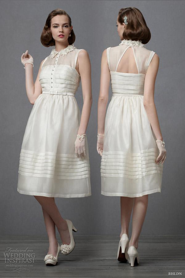 Under the knee wedding dresses dress blog edin for Below the knee dresses for wedding
