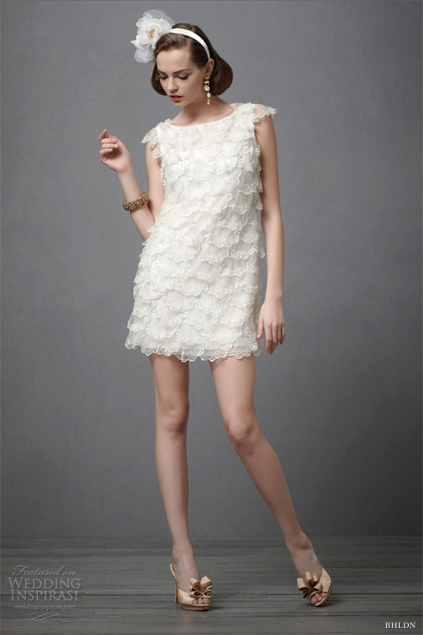 Bhldn wedding dresses spring 2012 wedding inspirasi for Short wedding dresses 2012