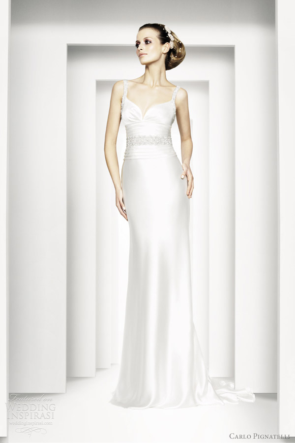 carlo pignatelli 2012 wedding dress
