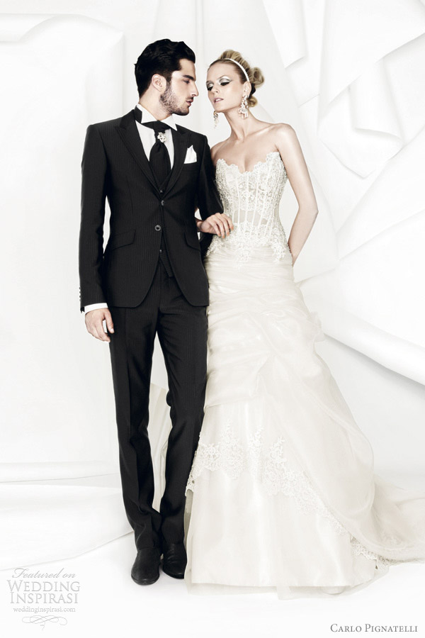 carlo pignatelli 2012 wedding dresses