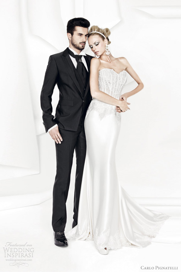 carlo pignatelli 2012 wedding gown