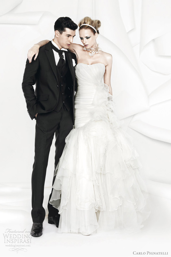 carlo pignatelli wedding dresses 2012 collection