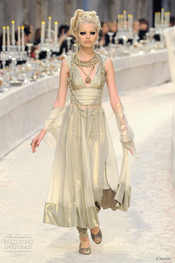 Chanel Pre Fall 2012 Collection Paris Bombay Wedding