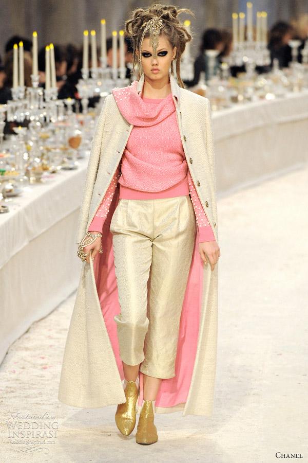 chanel coat 2012