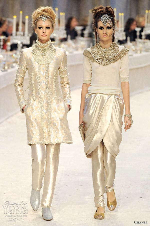 Chanel Pre Fall 2012 Collection Paris Bombay Wedding