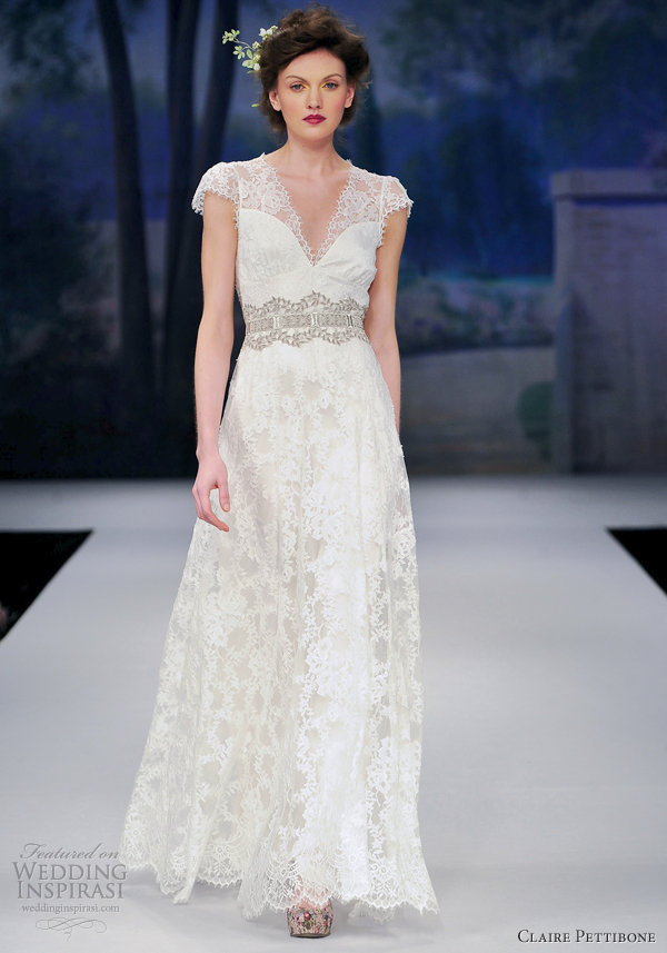 Claire pettibone spring 2012 wedding dresses wedding for Wedding dress claire pettibone