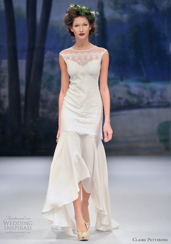 Claire Pettibone Spring 2012 Wedding Dresses | Wedding Inspirasi