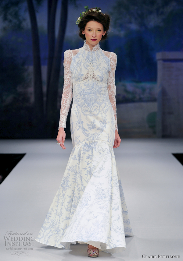 Claire pettibone 2012 spring bridal hot girls wallpaper for Where to buy claire pettibone wedding dress