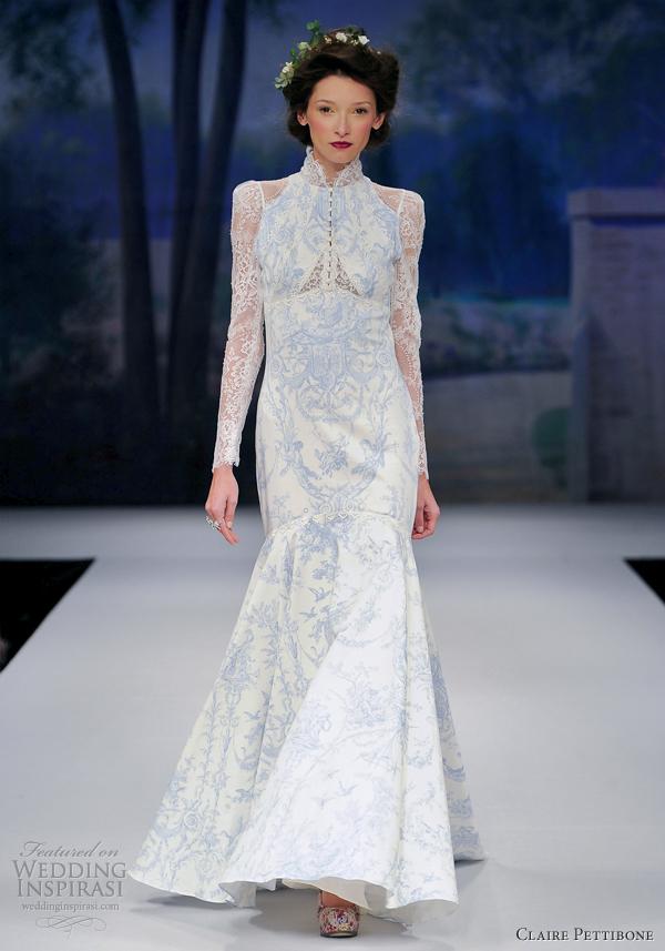 Claire Pettibone Long Sleeve Wedding Dress Claire Pettibone Wedding Dress