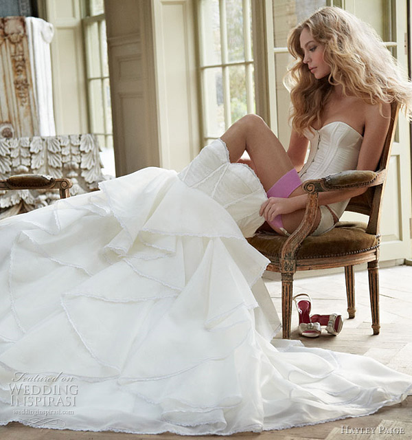 coco wedding dress - hayley paige spring 2012