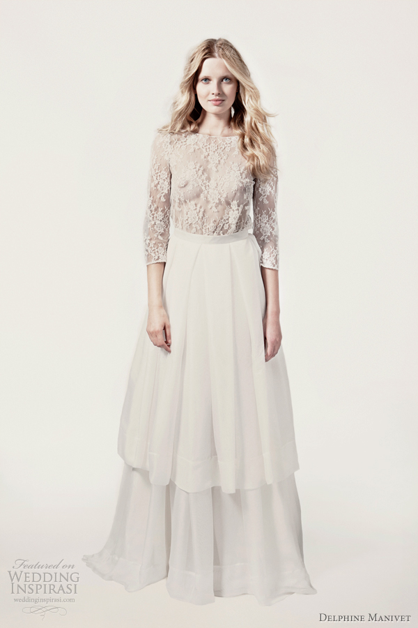 delphine manivet lace wedding dress 2012