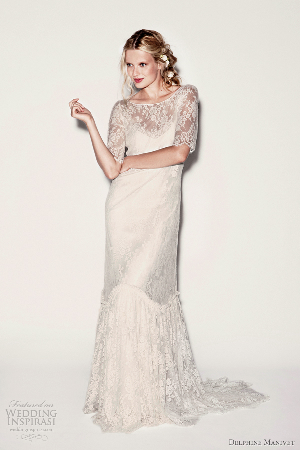 delphine manivet lace wedding dresses 2012 collection
