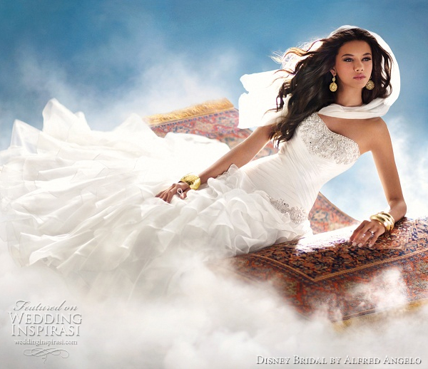 disney princess wedding dresses 2012 jasmine