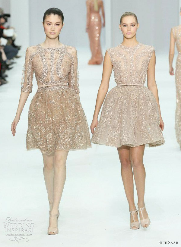Elie Saab Spring 2012 Couture Wedding Inspirasi