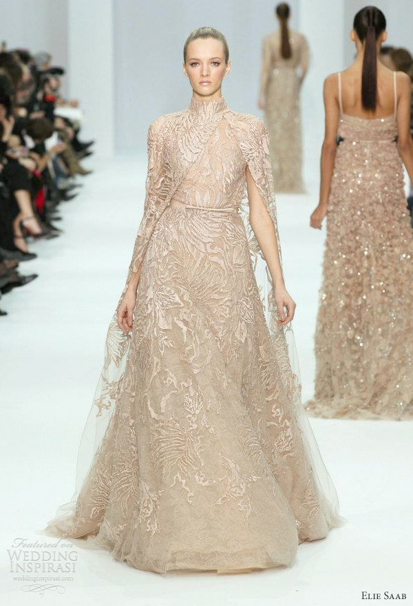 elie saab wedding dresses spring 2012