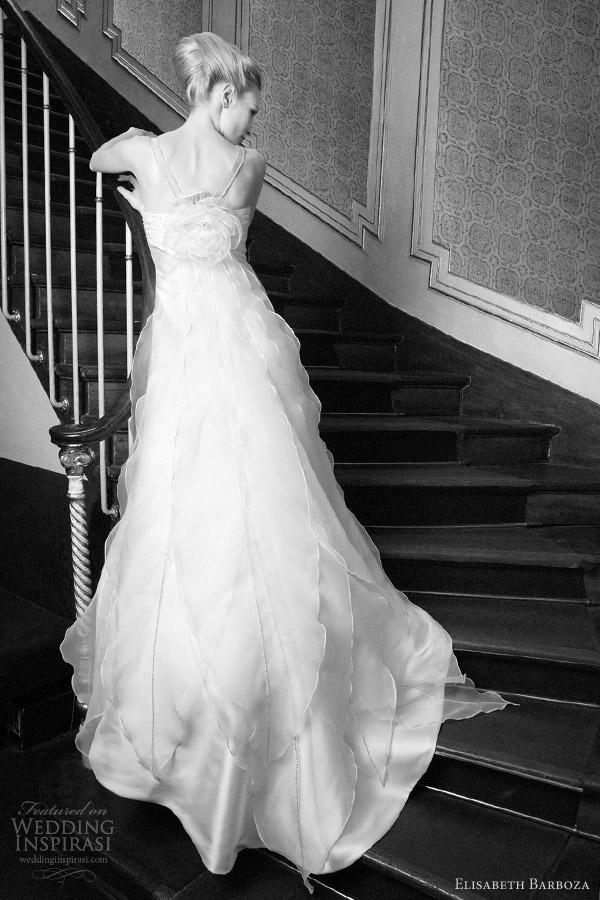 elisabeth barboza wedding dress 2012