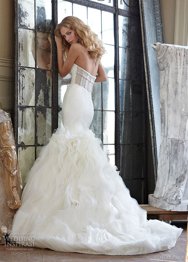 hayley paige spring 2012 wedding dress - Gianna