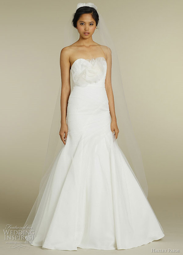 hayley paige wedding dress 2012 - Rae