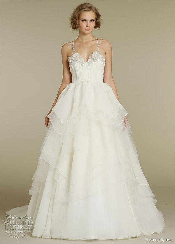 hayley paige wedding dress hattie