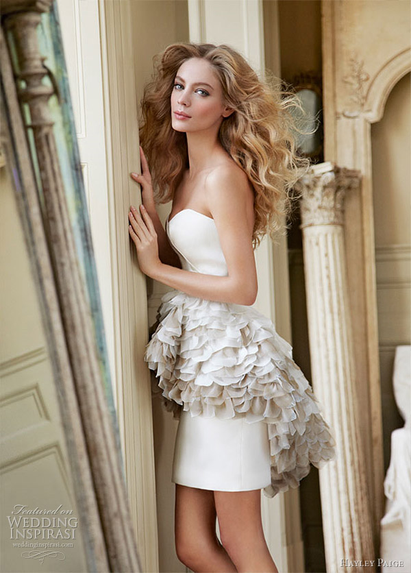 hayley paige wedding dress 2012 - Kiki