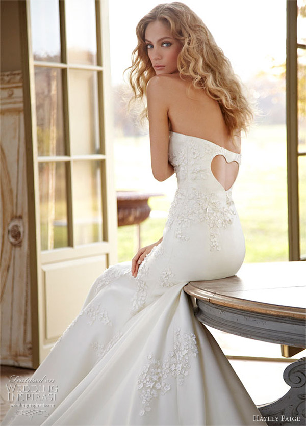 hayley paige wedding dress spring 2012 -- Gracie