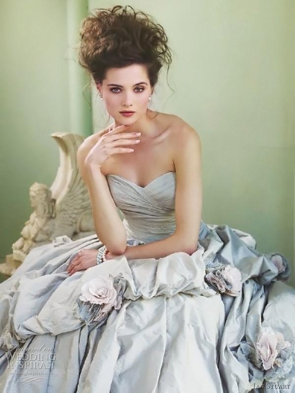 Ian Stuart 2017 Queen Verbier Wedding Dress