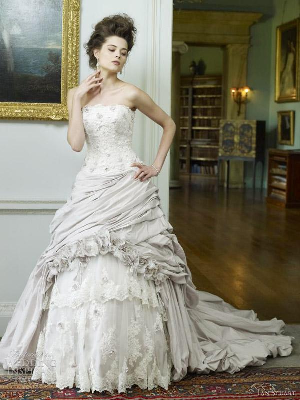 ian stuart 2012 wisteria wedding dress