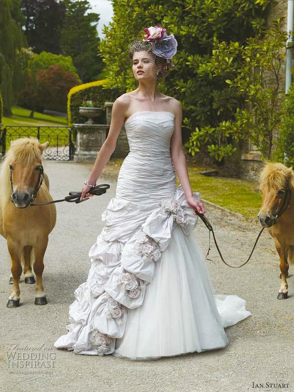 ian stuart wedding dress 2012 - Rhapsodia