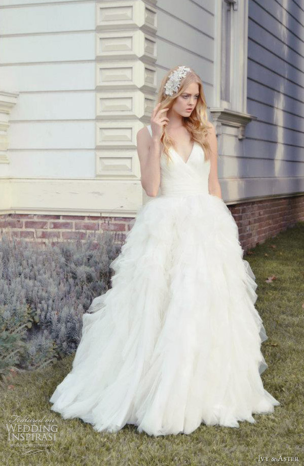 ivy and aster 2012 swan lake wedding dress