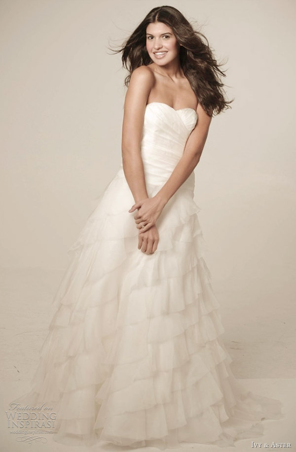 ivy aster spring 2012 wedding dress