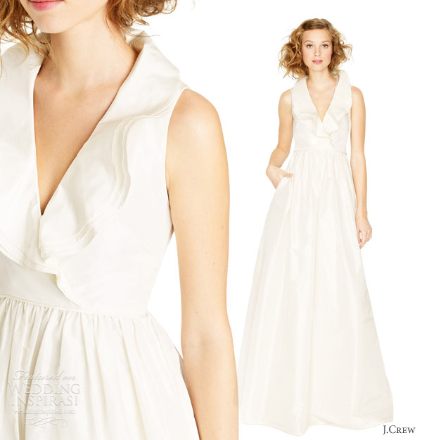 Wedding Gown J Crew