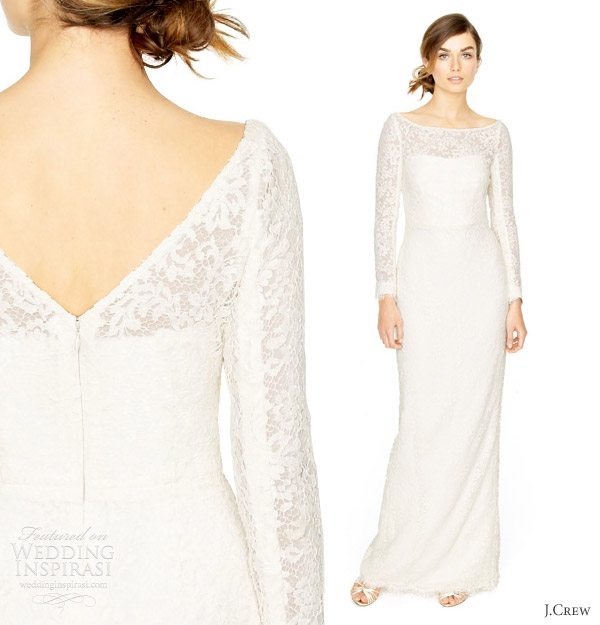 J Crew Simple Wedding Dresses: J.Crew Wedding Dresses Spring 2012