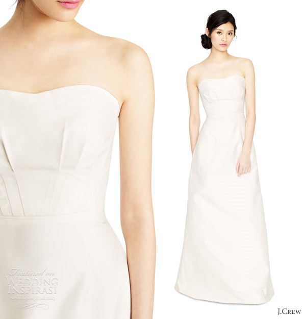 jcrew wedding dresses spring 2012