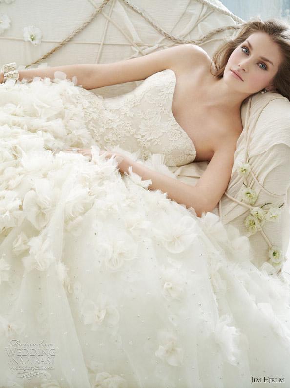 jim hjelm spring 2012 wedding dresses