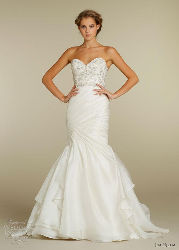 jim hjelm spring 2012 wedding gown